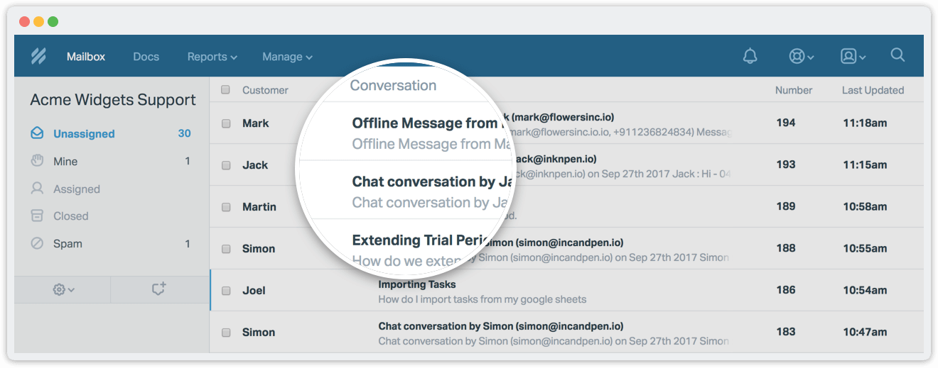 Live chat conversations as Zendesk tickets