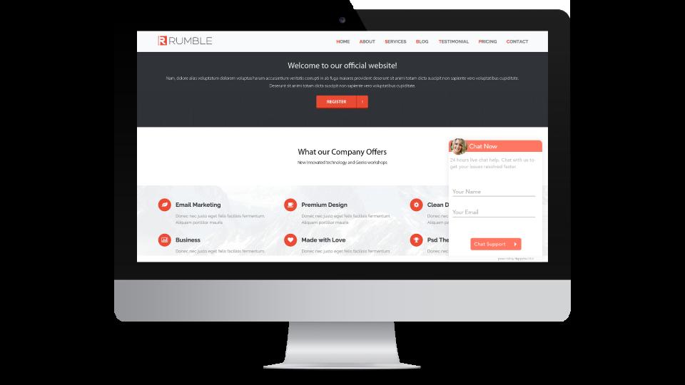 live chat Widget Customization