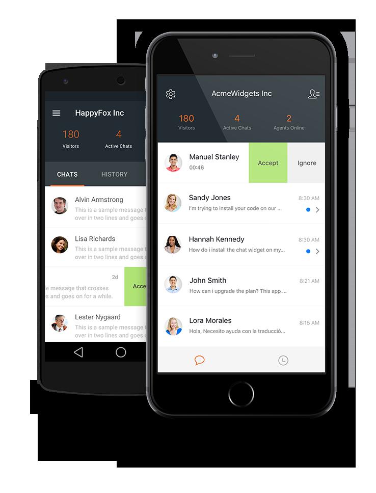 HappyFox Chat wordpress live chat applications